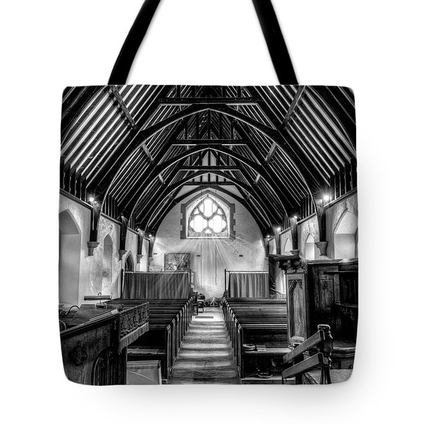 St John Ysbyty Ifan Tote Bag by Adrian Evans