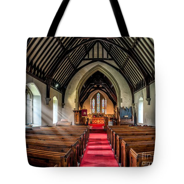 St Johns Church Tote Bag by Adrian Evans