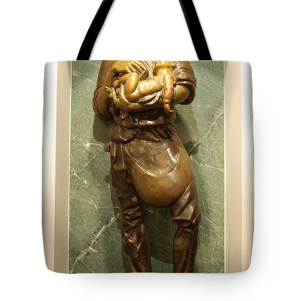 St Joseph The Worker Tote Bag by Philip Ralley