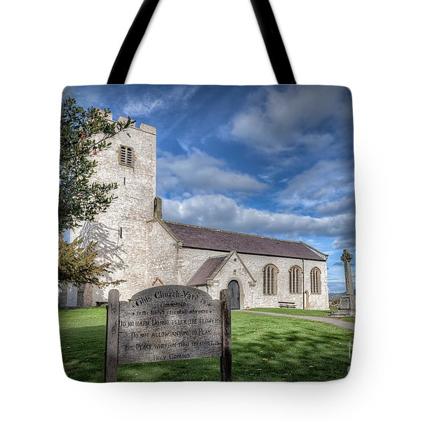 St Marcella's Church Tote Bag by Adrian Evans