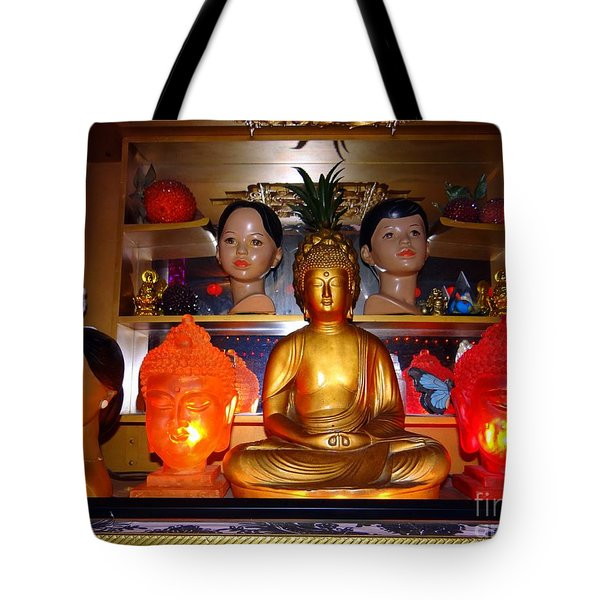 St Marks Altar Tote Bag by Ed Weidman