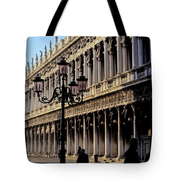 St. Mark's Square Venice Italy Tote Bag by Ryan Fox