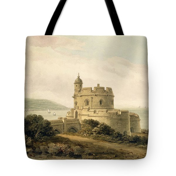 St Mawes Castle Tote Bag by John Chessell Buckler