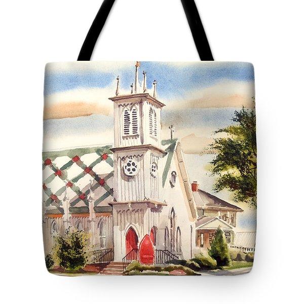 St. Pauls Episcopal Church II Tote Bag by Kip DeVore