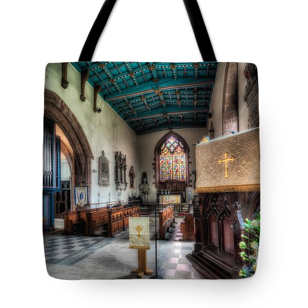 St Peter's Church Tote Bag by Adrian Evans