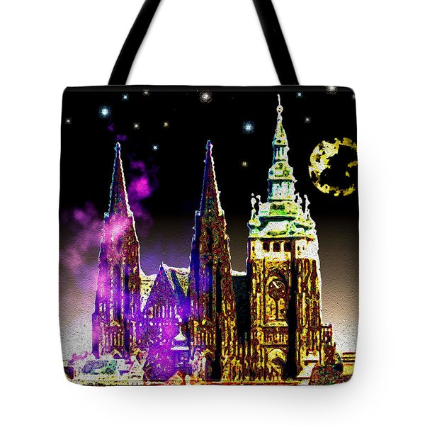 St. Vitus Cathedral Prague Tote Bag by Daniel Janda