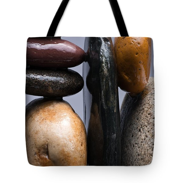 Stacked Stones 4 Tote Bag by Steve Gadomski
