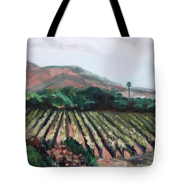 Stag's Leap Vineyard Tote Bag by Donna Tuten