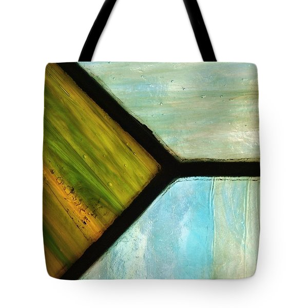 Stained Glass 6 Tote Bag by Tom Druin