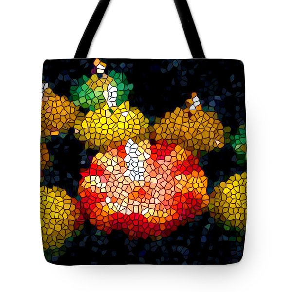 Stained Glass Candle 1 Tote Bag by Lanjee Chee