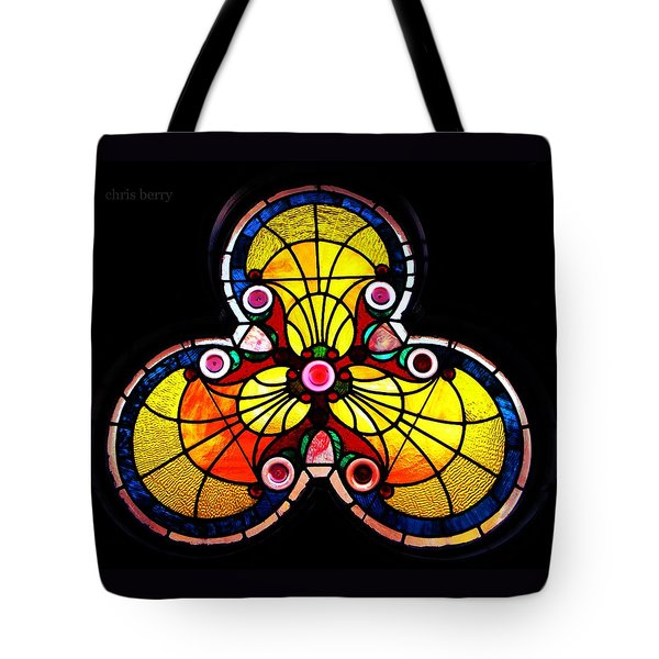 Stained Glass  Tote Bag by Chris Berry