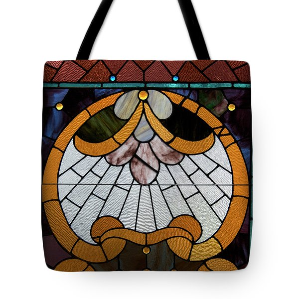 Stained Glass LC 09 Tote Bag by Thomas Woolworth