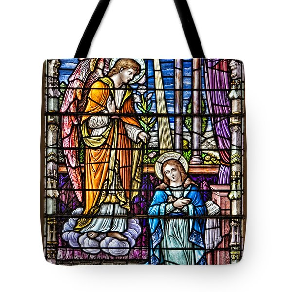 Stained Glass Tote Bag by Susan Candelario