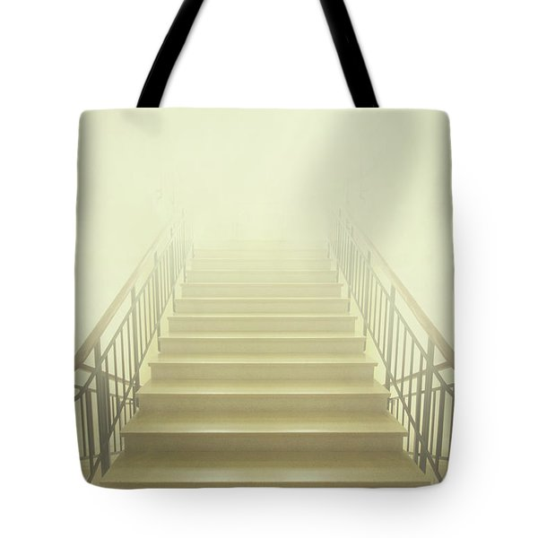 Stairway To Heaven Tote Bag by Evelina Kremsdorf