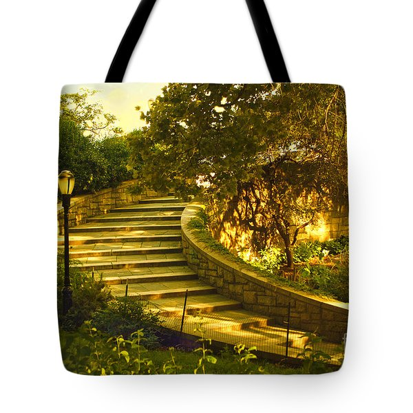 Stairway To Nirvana Tote Bag by Madeline Ellis