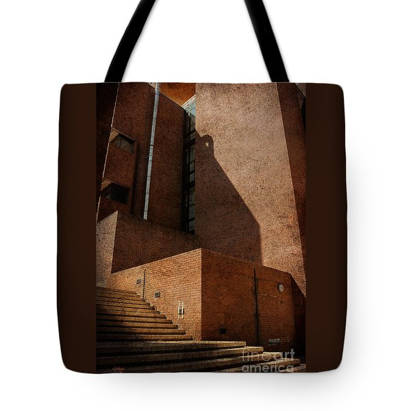 Stairway To Nowhere Tote Bag by Lois Bryan