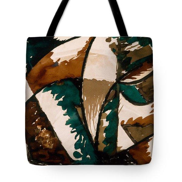 Stalking Bear Tote Bag by Kristian Roald