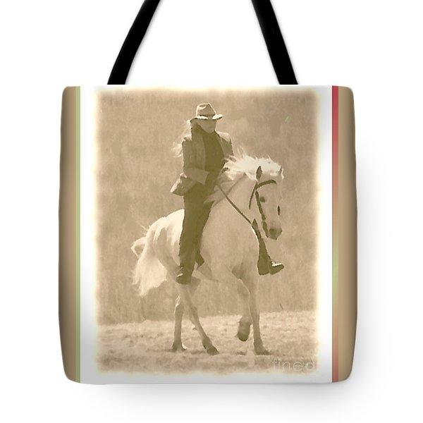Stallion Strides Tote Bag by Patricia Keller