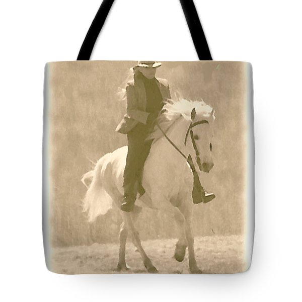 Stallion Strides Tote Bag by Patricia Keller
