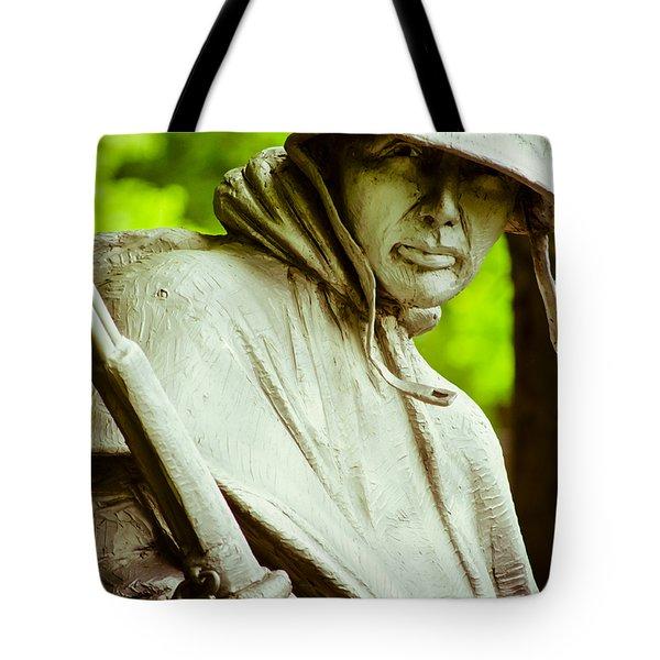 Stalwart Soldier Tote Bag by Christi Kraft