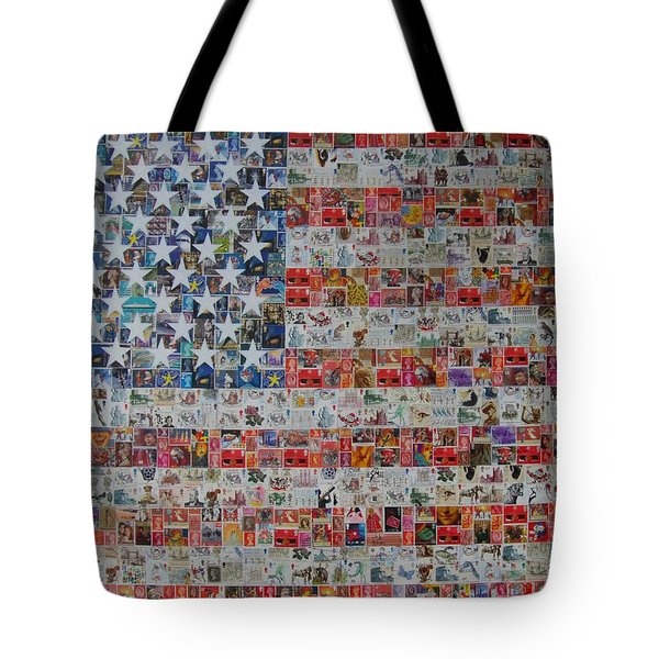 Stamps And Stripes Renegade Colony Tote Bag by Gary Hogben