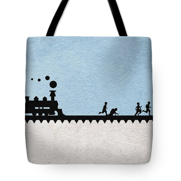 Stand By Me Tote Bag by Ayse Deniz