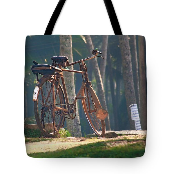 Stand In The Place That You Are.. Tote Bag by A Rey