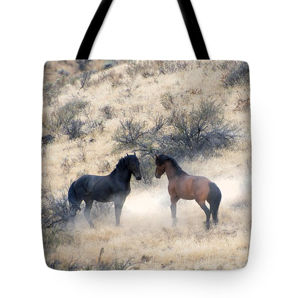 Stand-Off Tote Bag by Mike  Dawson