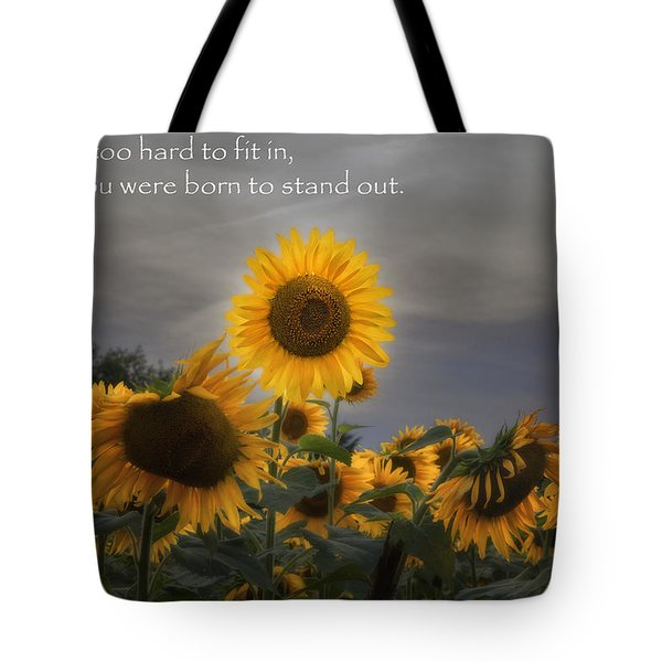 Stand Out Tote Bag by Bill  Wakeley