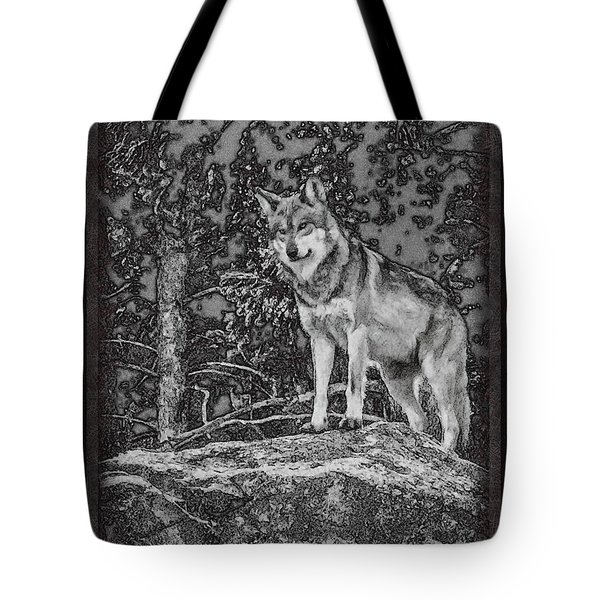 Standing Tall Tote Bag by Ernie Echols
