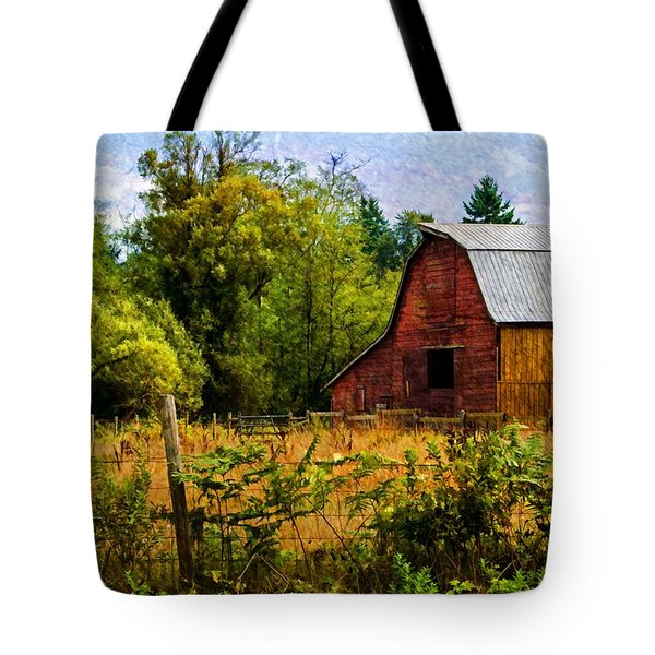 Standing The Test Of Time Tote Bag by Jordan Blackstone