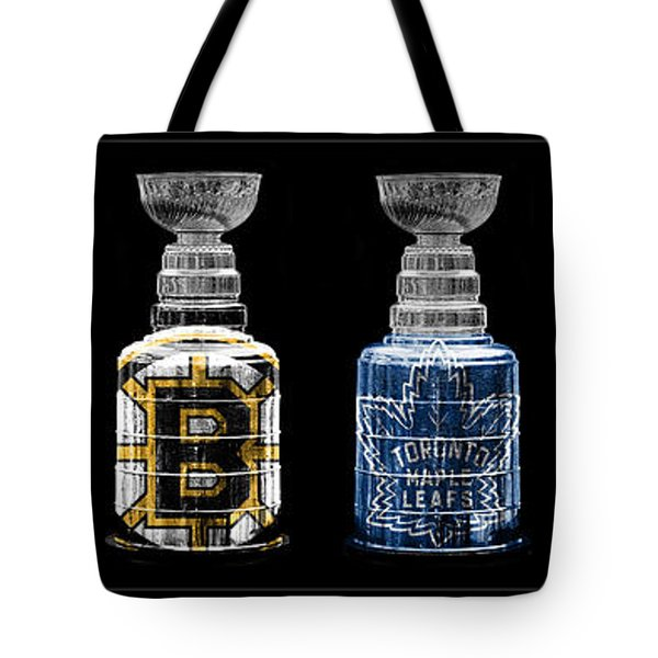 Stanley Cup Original Six Tote Bag by Andrew Fare