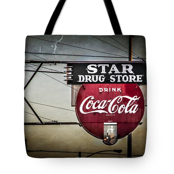 Star Drug Store 2 Tote Bag by Perry Webster