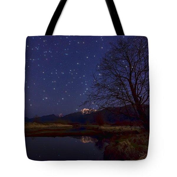 Star Light Star Bright Tote Bag by James Wheeler
