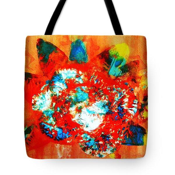 Starburst Nebula Tote Bag by Roberto Prusso