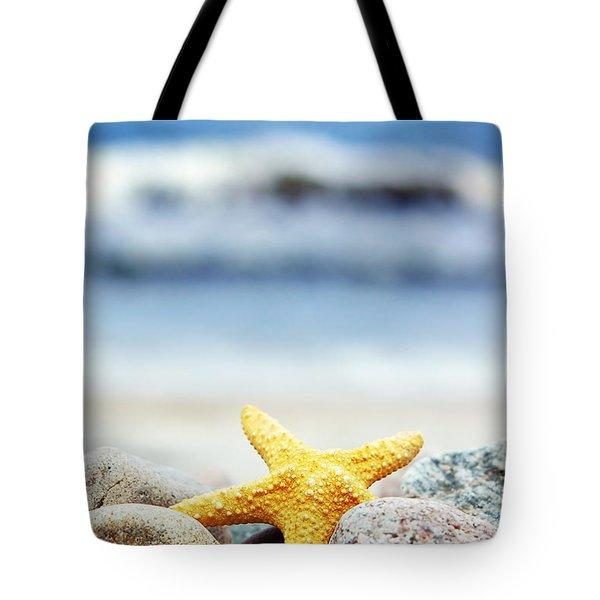 Starfish Tote Bag by Michal Bednarek