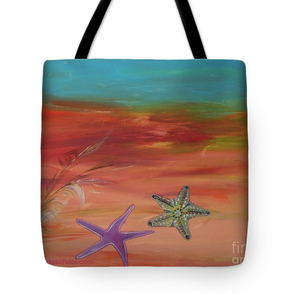 STARFISH Tote Bag by PainterArtist FIN