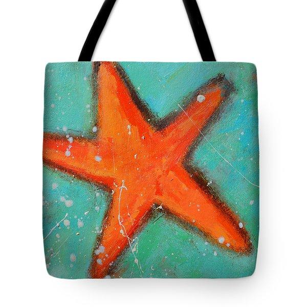 Starfish Tote Bag by Patricia Awapara
