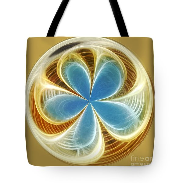 Starfish To Flower - Orb 2 Tote Bag by Kaye Menner
