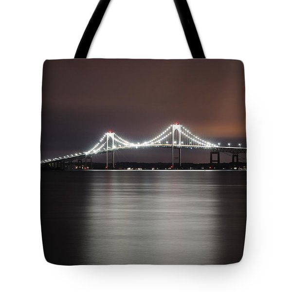 Stargazing In Newport Tote Bag by Luke Moore