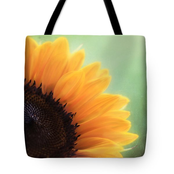 Staring Into The Sun Tote Bag by Amy Tyler