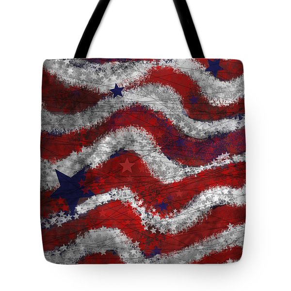 Starry Stripes Tote Bag by Carol Jacobs