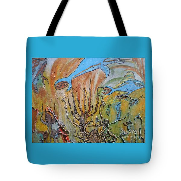 Starsign Cancer Tote Bag by Ann Fellows