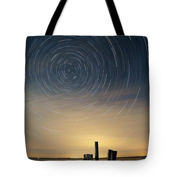 Startrails 2 Tote Bag by Benjamin Reed