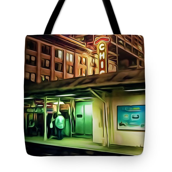 State And Lake Tote Bag by Scott Norris