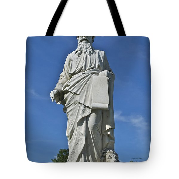 Statue 01 Tote Bag by Thomas Woolworth