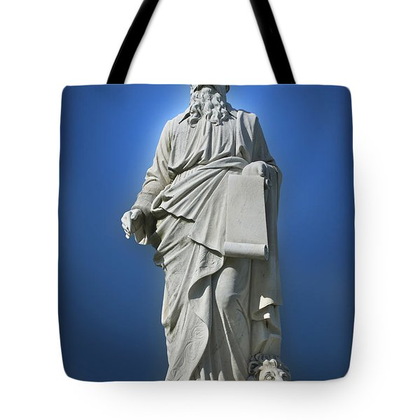 Statue 23 Tote Bag by Thomas Woolworth