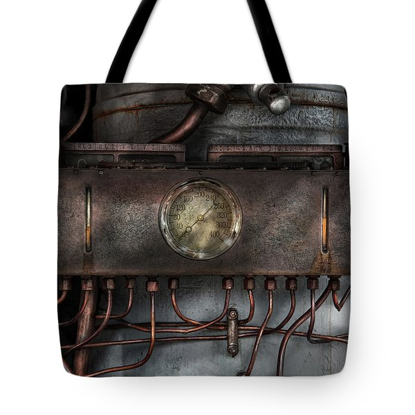 Steampunk - Connections   Tote Bag by Mike Savad