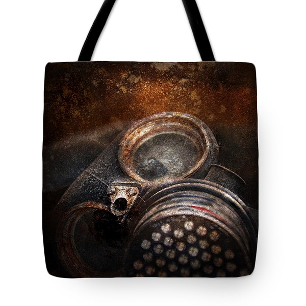 Steampunk - Doomsday  Tote Bag by Mike Savad
