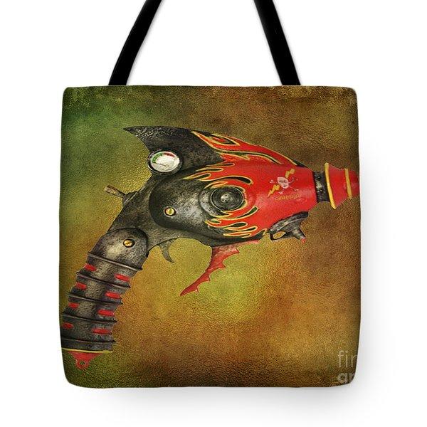 Steampunk - Gun - Electric Raygun Tote Bag by Paul Ward